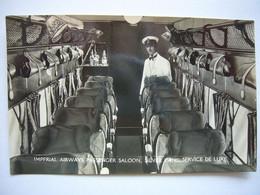 Avion / Airplane / IMPERIAL AIRWAYS / Silver Wing / Cabin & Stuwart - 1919-1938