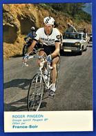 CPSM CYCLISME - ROGER PINGEON - Groupe Sportif Peugeot BP - France-Soir - Radsport