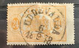 Suède 1874/96  Y  Et T  S 8B O  D.14 - Officials