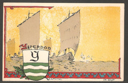 Carte P ( Yverdon / Litho Spengler ) - VD Vaud