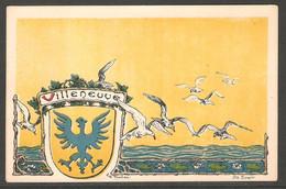 Carte P ( Villeneuve / Litho Spengler ) - VD Vaud