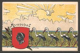 Carte P ( Avenches / Litho Spengler ) - VD Vaud