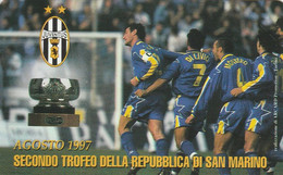 San Marino - 100° Anniversario Juventus - Agosto 1997 - Saint-Marin