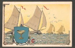 Carte P ( Coppet / Litho Spengler ) - VD Vaud