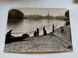 33 - LANGON - La Pêche à L'alose Sur La Garonne - Langon
