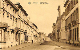 033 650 - CPA - Belgique - Ninove - Rue De La Gare - Ninove