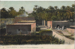 ALGERIE - BISKRA - (vieux) - Entrée De L'oasis De Medjeniche - Biskra