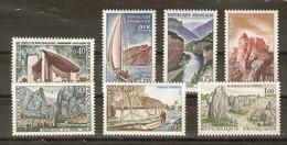 France 1965 - Série Touristique - Série Complète De7 Timbres MH - 1435/41 - Joux - Carnac - Vendée - Tarn - Aix-les-Bain - Vrac (max 999 Timbres)