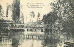 80  BRAY SUR SOMME  Le Pont Du Chemin De Fer - Unclassified