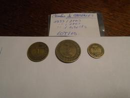 LOT 19  - 3  Pieces Dit CHAMBRES DE COMMERCES De 1933 - H. 1 Franc