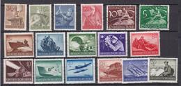 Deutsches Reich - 1939/44 - Sammlung - Gestempelt/Ungebr.m.Falz - Usati