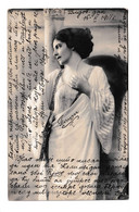 Woman In Roman Toga Old Postcard Posted 1911 In Serbia B210112 - Pin-Ups