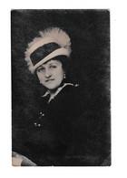 Woman Portrait Old Postcard Posted 1925 Zagreb To Skoplje B210112 - Pin-Ups