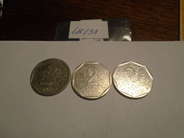 LOT De  Pieces  2 Francs Type SEMEUSE   Recto/Verso - I. 2 Franchi
