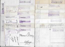 1914 1918 KONIGSBRUCK CAMP PRISONNIERS - BIERN ANTOINE SERGENT 111 E RI POUR COLLIOURE - LOT DE 16 CPA SERIES NATURE - Koenigsbrueck