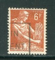 FRANCE-Y&T N°1115- Oblitéré - 1957-59 Moissonneuse
