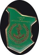 69303- Pin's -cercle Des Officiers Mariniers.Cherbourg-en-Cotentin. Manche. Normandie, - Militair & Leger