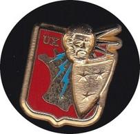 69321- Pin's -UX.militaire.armée.signé Ballard France. - Militair & Leger