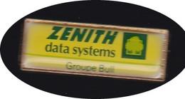 69330- Pin's -Le Groupe Bull Acquiert Zenith Data Corporation - Informatik