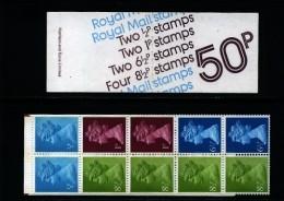 GREAT BRITAIN - 1977 50 P.  BOOKLET  MARCH   6 1/2 P.  LB  MINT  SG  FB 1b - Libretti