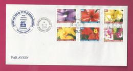 Carnet YT N° C723, Les 12 Timbres YT N° 723 à 734 Sur 2 Lettres + Carnet Vide - Storia Postale
