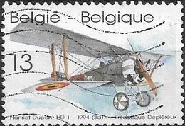 BELGIUM 1994 Biplanes - 13f - Hanriot HD-1 FU - 1923-1941