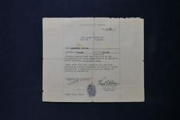 GUERRE 1939/45 - Carte D'Identité D'un Employé Civil Pour L' APO 513 De L'US Armée En 1945 - L 85056 - Documentos