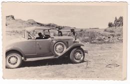 AUTOMOBILE NON IDENTIFICATA - AUTO - CAR  - SUDAN - 3 FOTO CARTOLINE ORIGINALI - Automobili