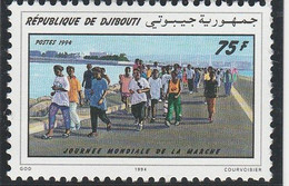 DJIBOUTI 1994 - N° 605 (catalogue Michel) Journée Mondiale De La Marche - Neuf** - 1er Choix (Lot 7) - Djibouti (1977-...)