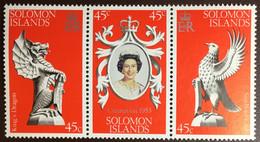 Solomon Islands 1978 Coronation Anniversary MNH - Solomoneilanden (1978-...)