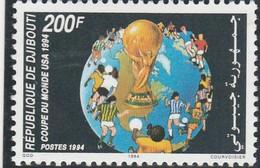 DJIBOUTI 1994 - N° 601 (catalogue Michel) Coupe Du Monde USA - Neuf** - 1er Choix (Lot 10) - Djibouti (1977-...)