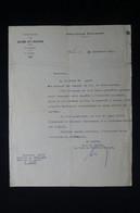 GUERRE 1939/45 - Lettre Du Préfet De Melun Au Sujet D'un Extrait De Baptême Exigé Par Les Allemands - L 85060 - Documentos