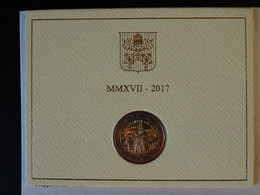 VATICAN 2017 2 Euro Commémorative Centenaire Des Apparitions De Fatima - Vatican
