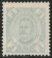 Portuguese India – 1895 King Carlos 1 Tanga Mint Stamp - Portugees-Indië