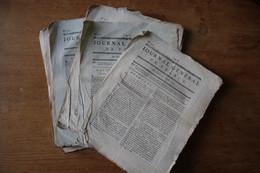Lot De Journaux  Période Révolutionnaire  1792 - Diplomi E Pagelle