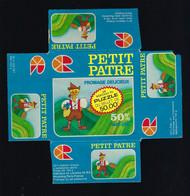 Etiquette Fromage  Petit Patte 50%mg 1 Moreceau Du Puzzle Du Billet De 50F  Roustang Meuse 55 - Cheese