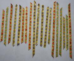 CHROMO 19ème Découpis Bandeau Frise Fleurs (21 Chromos) - Fleurs