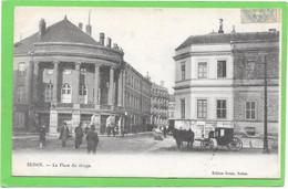 08 SEDAN - Place Du Rivage - Animée - Sedan
