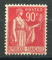 RC 19747 FRANCE COTE 42€ N° 285 - 90c PAIX NEUF * B/TB ( VOIR DESCRIPTION ) - Ongebruikt