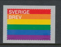 Sweden 2016 Facit # 3127, Sverige, Pride Flag 2016. MNH (**) - Nuovi