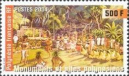 French Polynesia, 2004, 910, Ceremonial Dance, 1v, MNH - Danza