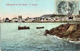 GRAND CANARIA - LAS PALMAS - Vista General - FORMATO PICCOLO - VIAGGIATA 1913 - (rif. C97) - Gran Canaria