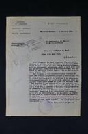 GUERRE 1939/45 - Lettre D'un Commissaire De Police Au Sujet D'un Polonais Arrêté Par Les FFI Et Relaxé En 1944 - L 85066 - Documentos