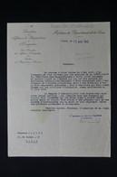 GUERRE 1939/45 - Lettre Du Service Des Réquisitions Automobiles De Paris En 1943 Pour Demande D'indemnité - L 85067 - Documentos