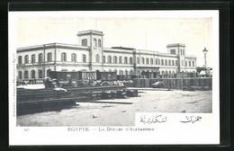 CPA Alexandrie, La Douane - Unclassified