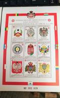 SMOM 1992 CONVENZIONI POSTALI 1988/1991 BF INTEGRO - Malte (Ordre De)