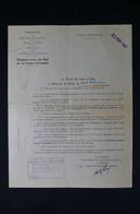 GUERRE 1939/45 - Lettre De La Préfecture De Seine Et Oise Pour Indemnisation De Dommages Allemands (1942) - L 85068 - Documentos