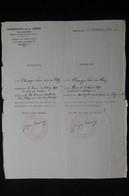 GUERRE 1939/45 - Certificat Franco/Roumain D'Acte De Baptême (pour Prouver Sa Religion...) De Bucarest En 1941 - L 85069 - Documentos