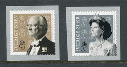 Sweden 2019. Facit # 3265-3266. King Carl Gustaf And Queen Silvia 2019. MNH (**) - Nuovi