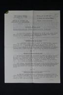 GUERRE 1939/45 Note Du Commissariat Aux Questions Juives Sur La Circulation Des Capitaux Juif En 41, Doc Officiel L85070 - Documentos